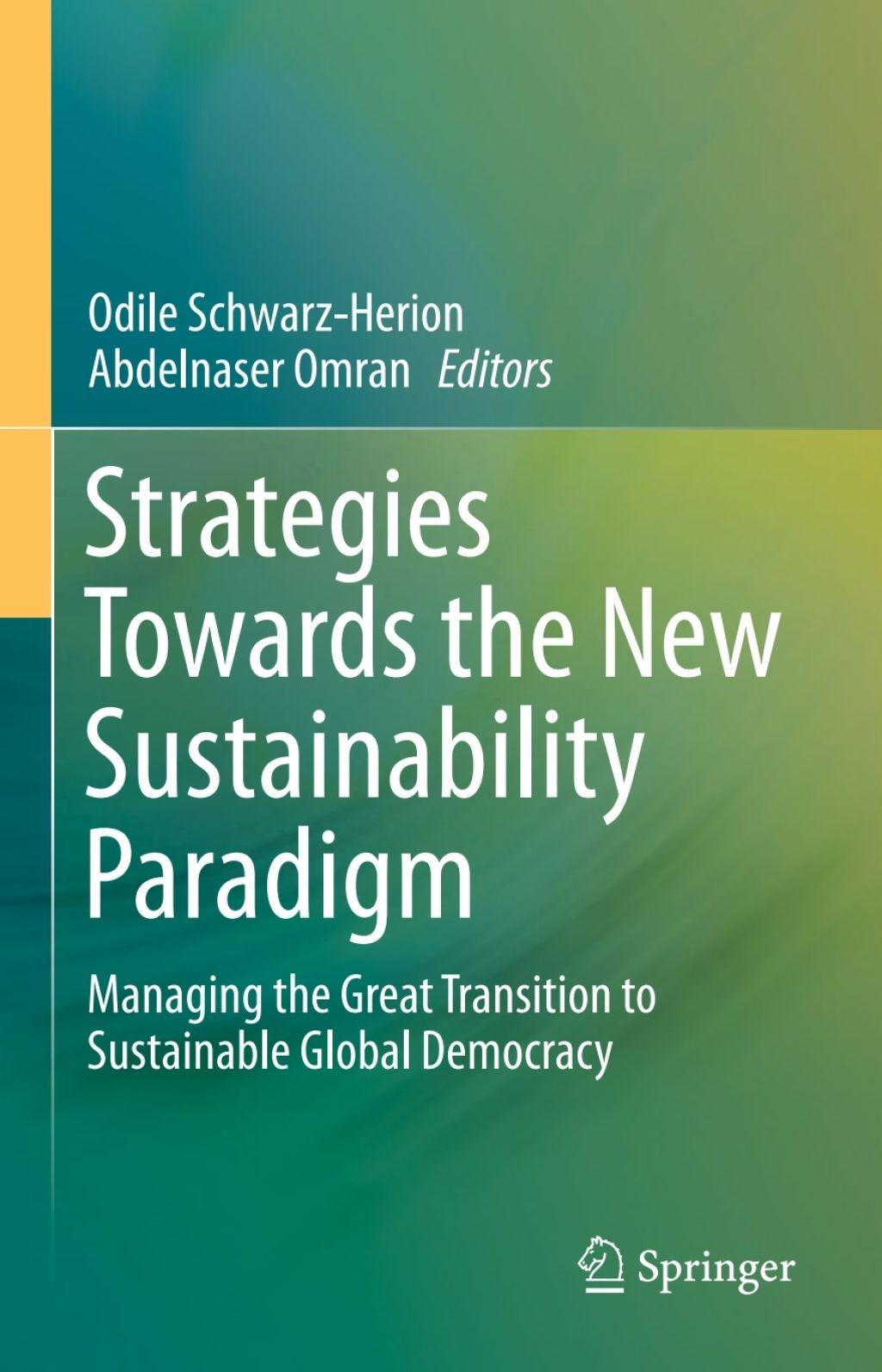 Strategies Towards The New Sustainability Paradigm Ebook Paradigm Ebook Strategies