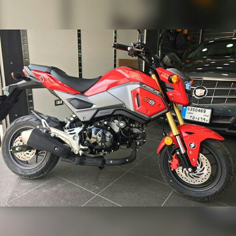 Honda Grom #honda#msx125#msx#red#bike#motorcycle