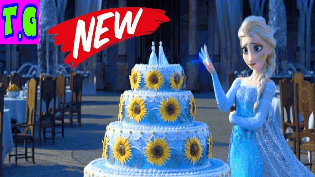 Disney Frozen Princess Elsas Wedding Cake Cake Game for Girls