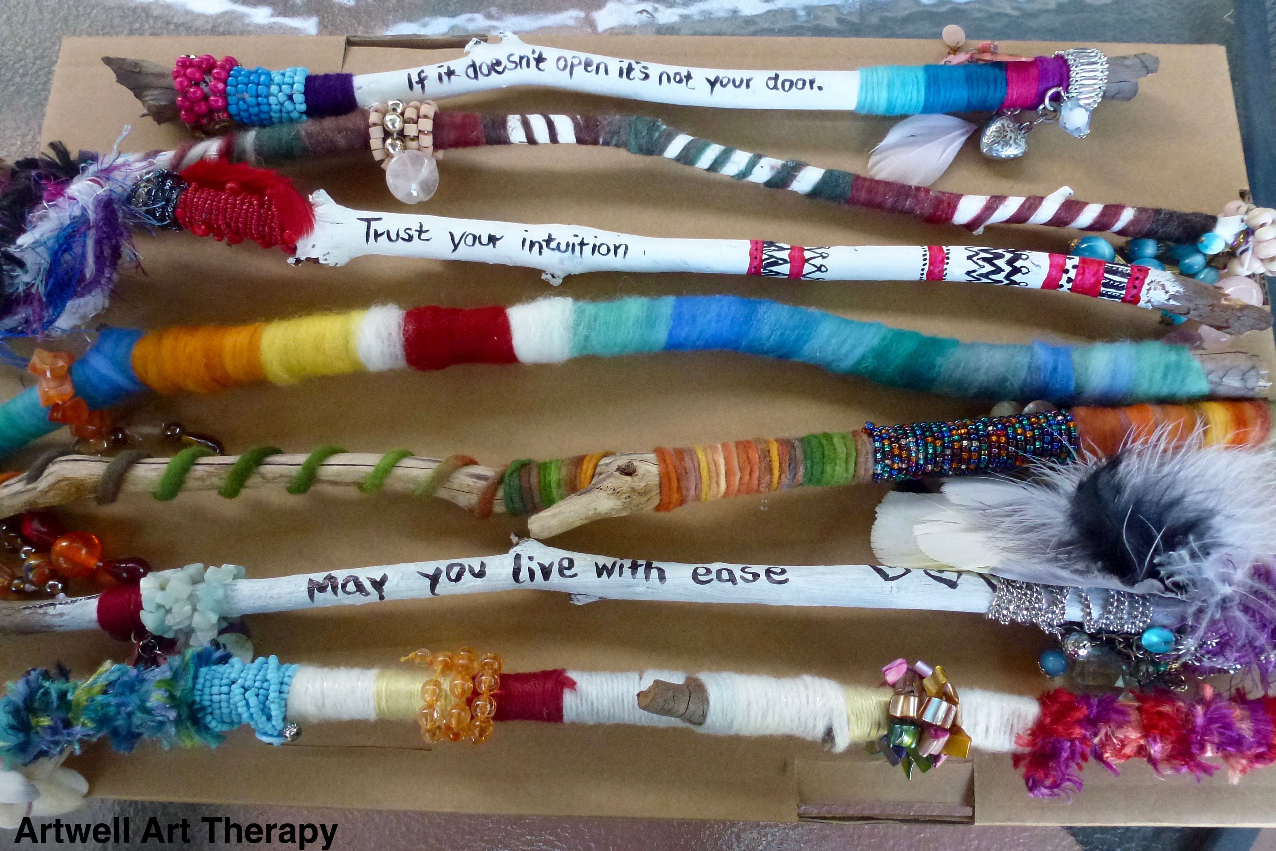 Talking Sticks, Wisdom Sticks More