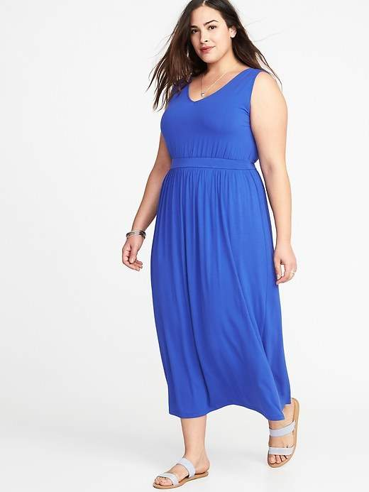 Old Navy Empire Waist Plus Size V Neck Maxi Dress Products