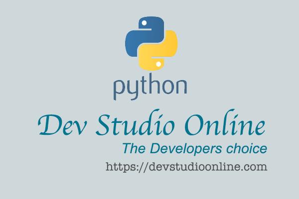 Create JSON and XML in python   Dev Studio Online   Python