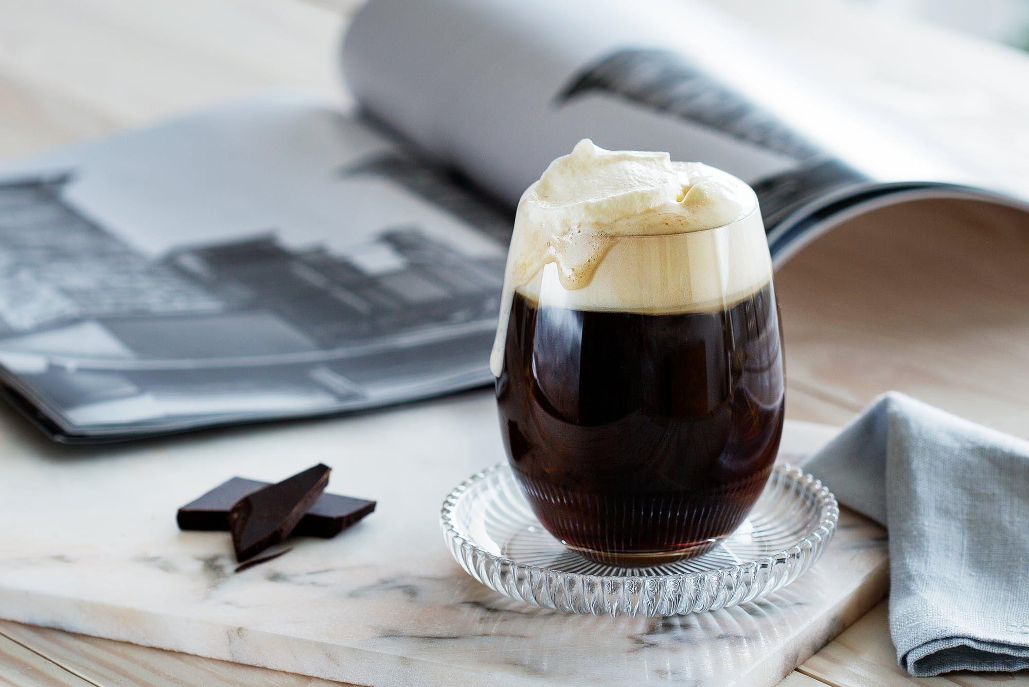 Coffee with whipped cream Recipe Keto chocolate cake