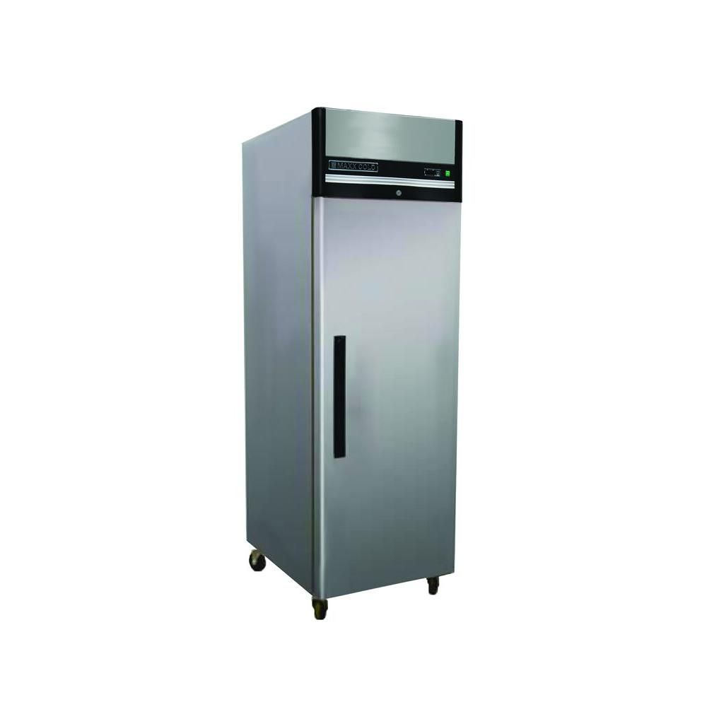 Maxx Cold X Series 23 Cu Ft Reach In Upright Freezer In Stainless Steel Mxcf 23fd The Upright Freezer Stainless Steel Refrigerator Commercial Refrigerators
