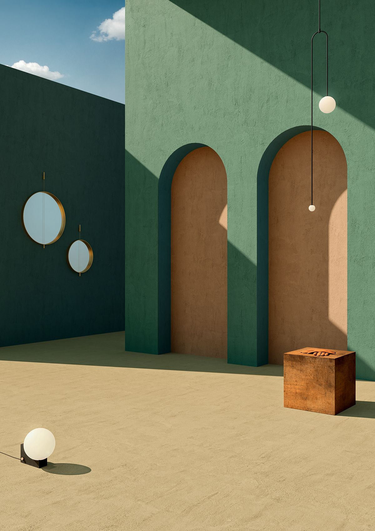 INSIDE ART // DE CHIRICO on Behance De chirico