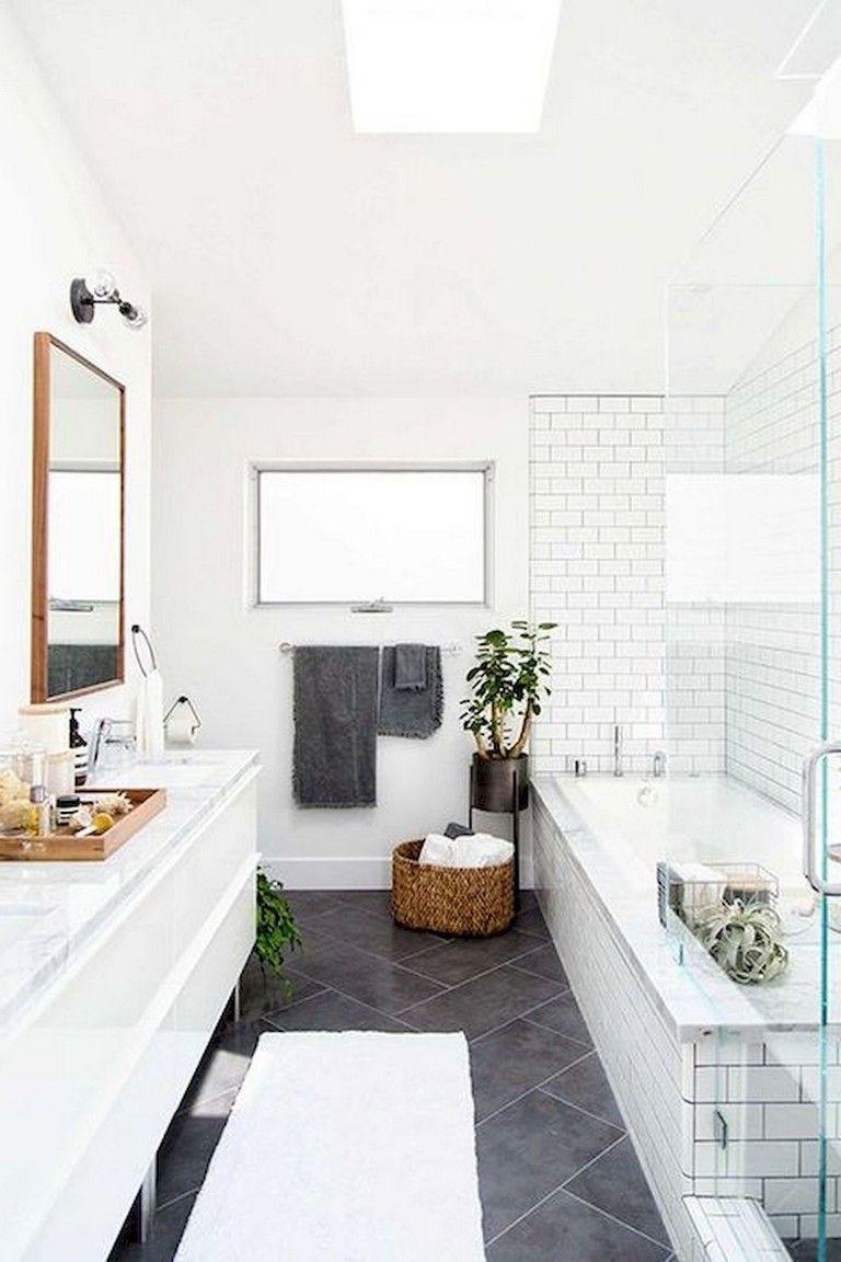 57+ Amazing Small Master Bathroom Tile Makeover Design Ideas ...