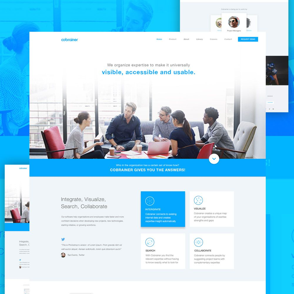 Cool Professional Company Website Template Free Psd Download Professional Company Website Template Free Psd Th Website Design Free Free Psd Psd Template Free