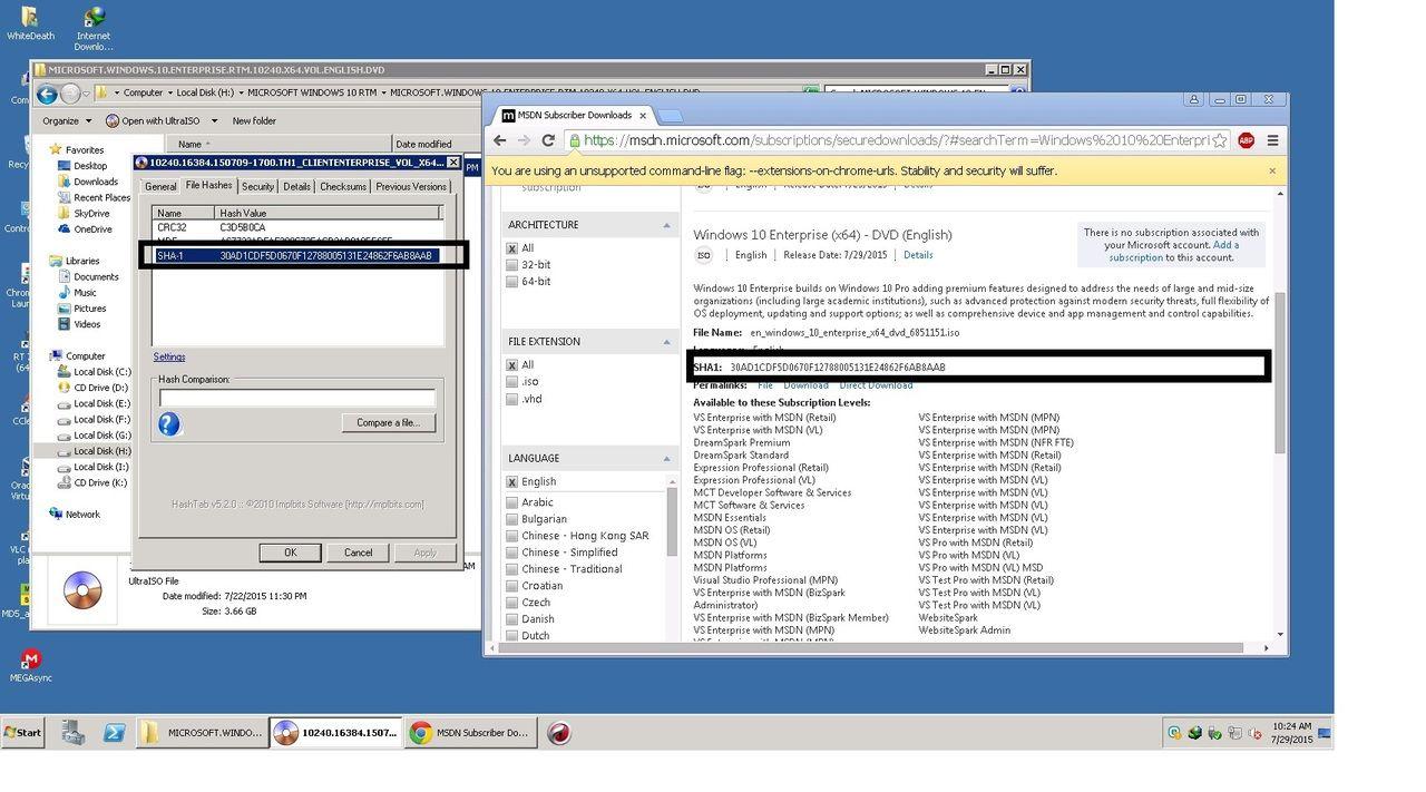 Windows 10 ISO Highly Compressed 32Bit & 64Bit Free