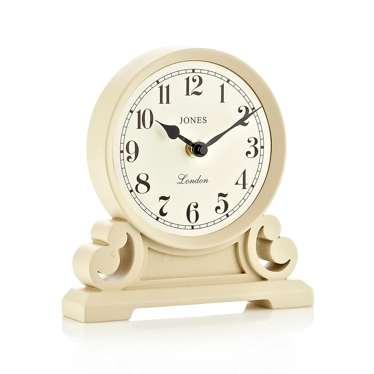 Jones White Middleton Mantel Clock At Debenhams Com Mantel Clock Clock Mantel Clocks