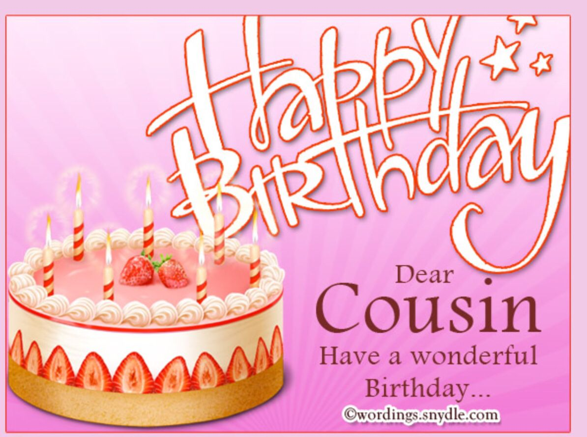 Cousin Birthday Quotes Pinjeanjer On Text Message Occasion Quotes  Pinterest