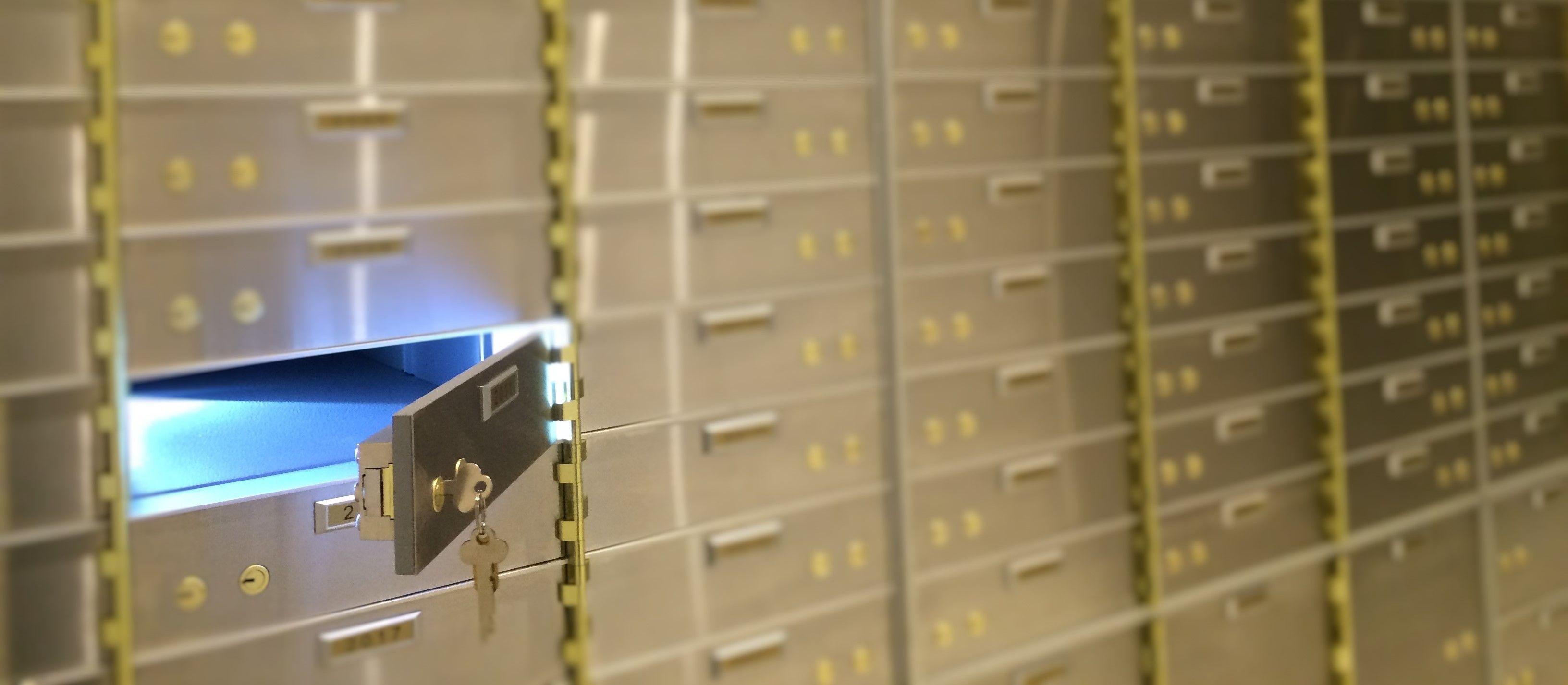 Securus Safe Deposit Lockers Safe deposit box, Deposit