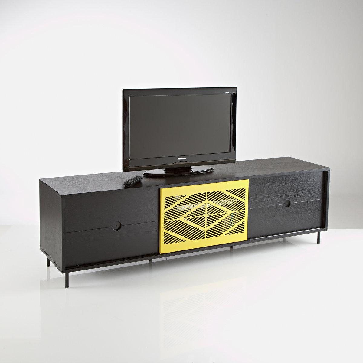 le banc tv ou buffet fran ois mangeol meubles et d co la redoute living room room et furniture. Black Bedroom Furniture Sets. Home Design Ideas