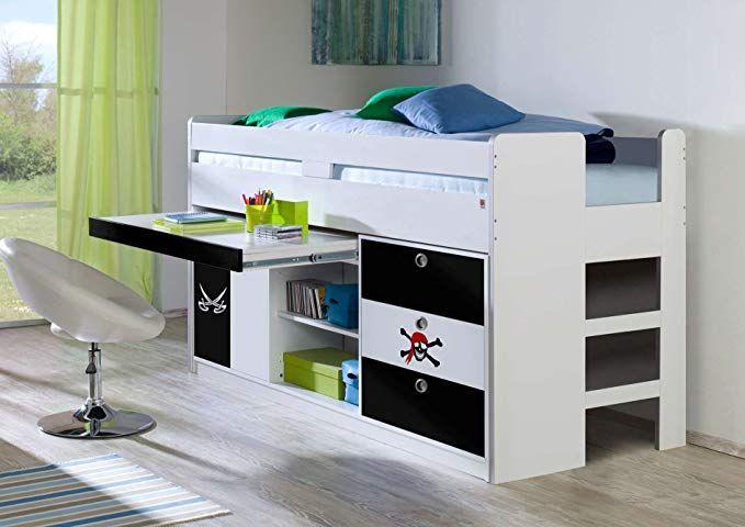 Hochbett 90x200 Cm Kinderbett Multifunktionsbett Bett Kinderzimmer