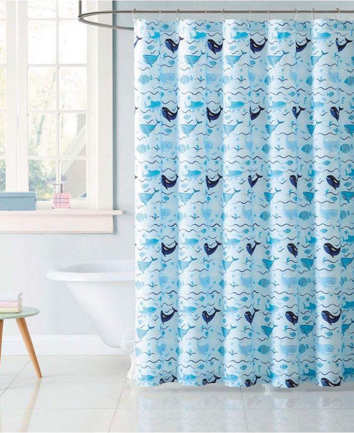 Laura Hart Kids Deep Blue Sea Shower Curtain Bedding Shower