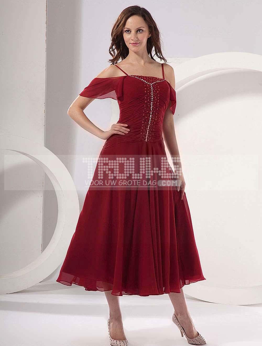 rode jurken dag
