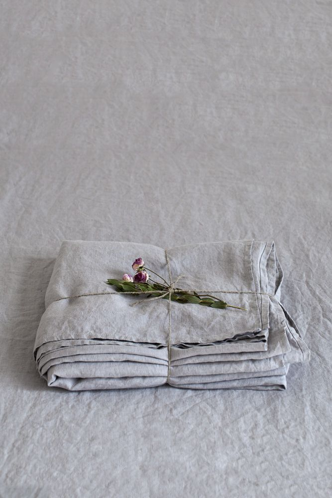 Grey bed linen by Linen Tales www linentales com | BED by