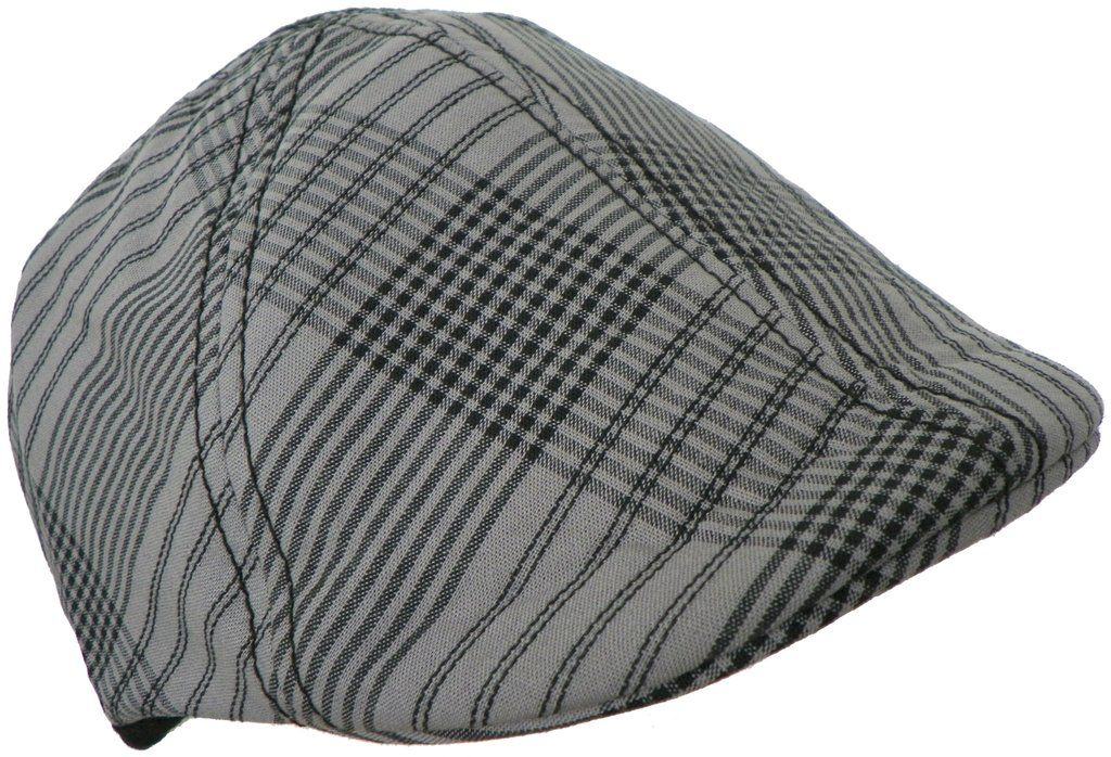 Dickies Plaid Reversible 6 Panel Cap 100% Cotton Duckbill Scally Pub Hat  Newsboy 001a32ee48f6