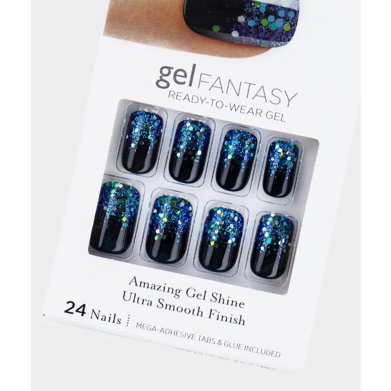 gel FANTASY Nails by KISS - Painted Veil - Nails   Nails   Pinterest ...
