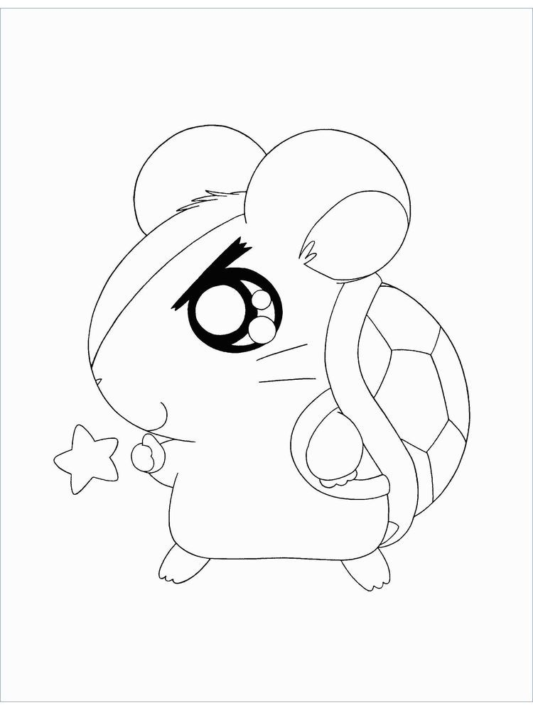 Printable Hamster Ball Coloring Pages There Are Many Types Of Hamsters That You Can Choose Rangi In 2020 Animal Coloring Pages Coloring Pages Coloring Pages To Print