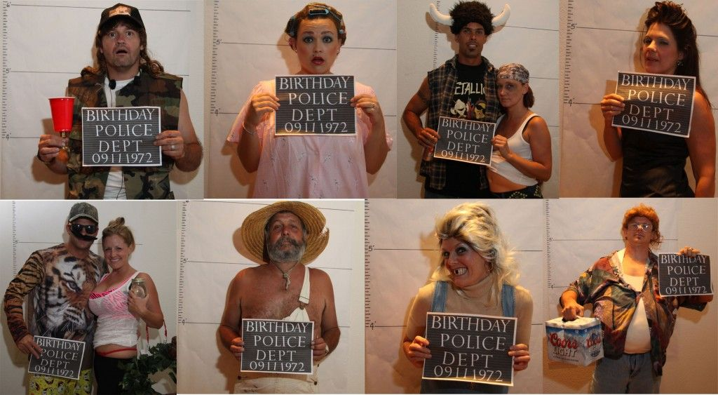 Ordinary Redneck Christmas Party Ideas Part - 6: Pin The Tooth On The Redneck Is A Great Party Game. Believe It Or Not That  Is Me Dressed In Drag And My Friend Made The Chin Longer On Photo Shop.