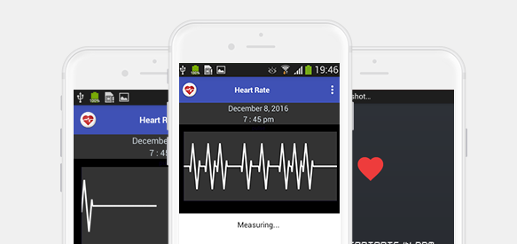 My Heart Beat is a free Android Heart Rate Monitoring app