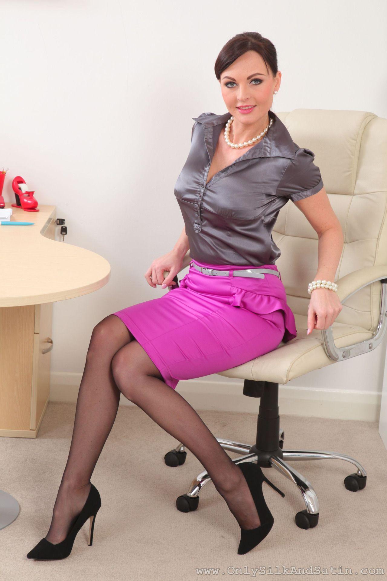 cd571eda8 strict beauties Satin Blouses, Satin Pencil Skirt, Tight Pencil Skirt, Tight  Skirts,