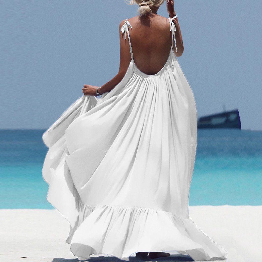 Www Goodsless Com Solid Color Maxi Dresses Backless Long Dress Plain Maxi Dress [ 1024 x 1024 Pixel ]