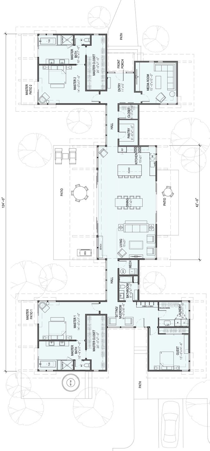 3,550 square feet 1 Story 3 Bedroom 3 Bathroom | Houses | Pinterest ...