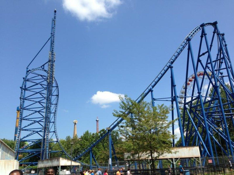 11 Of The Best Rides In Six Flags St Louis Awe Inspiring Six Flags Pretty Chill