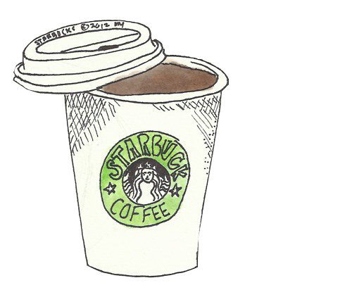 Imgs For > Starbucks Drink Transparent Tumblr | Planner ...