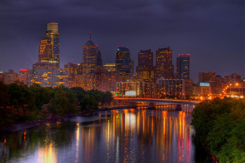 Philidelphia Philadelphia Skyline Skyline Landscape Photography