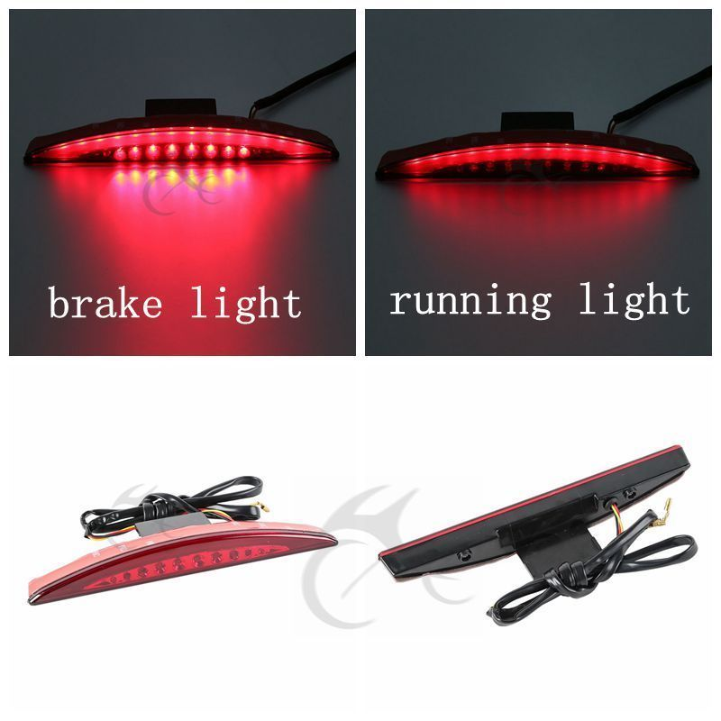 Rear Red Fender Tip Brake Tail Light LED For Harley Breakout FXSB 2013-2016 15