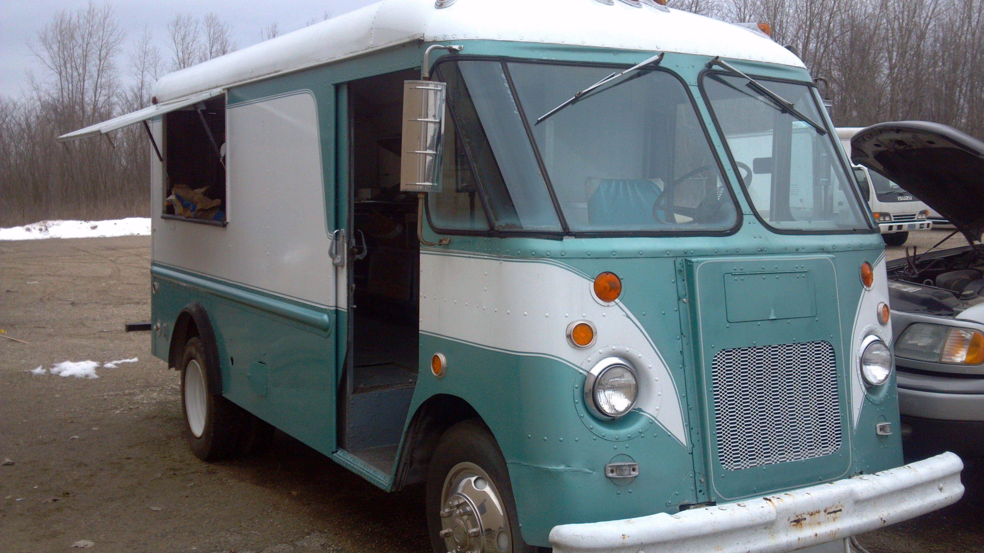Food truck for sale   vintagestepvans.com   Pinterest