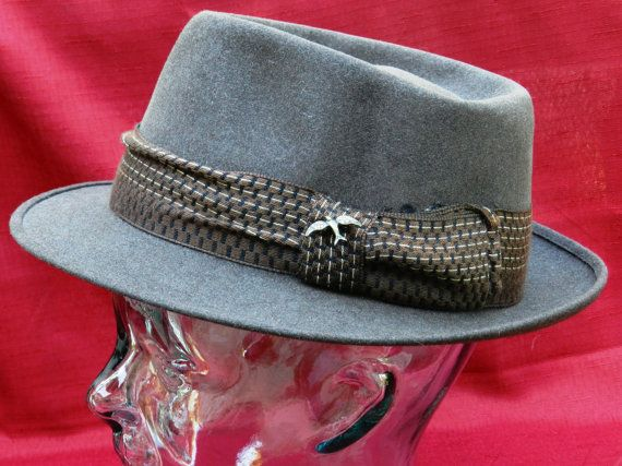 db480d530492dd Vintage Stetson Fedora The Springaire Royal Deluxe - Frank Sinatra Look
