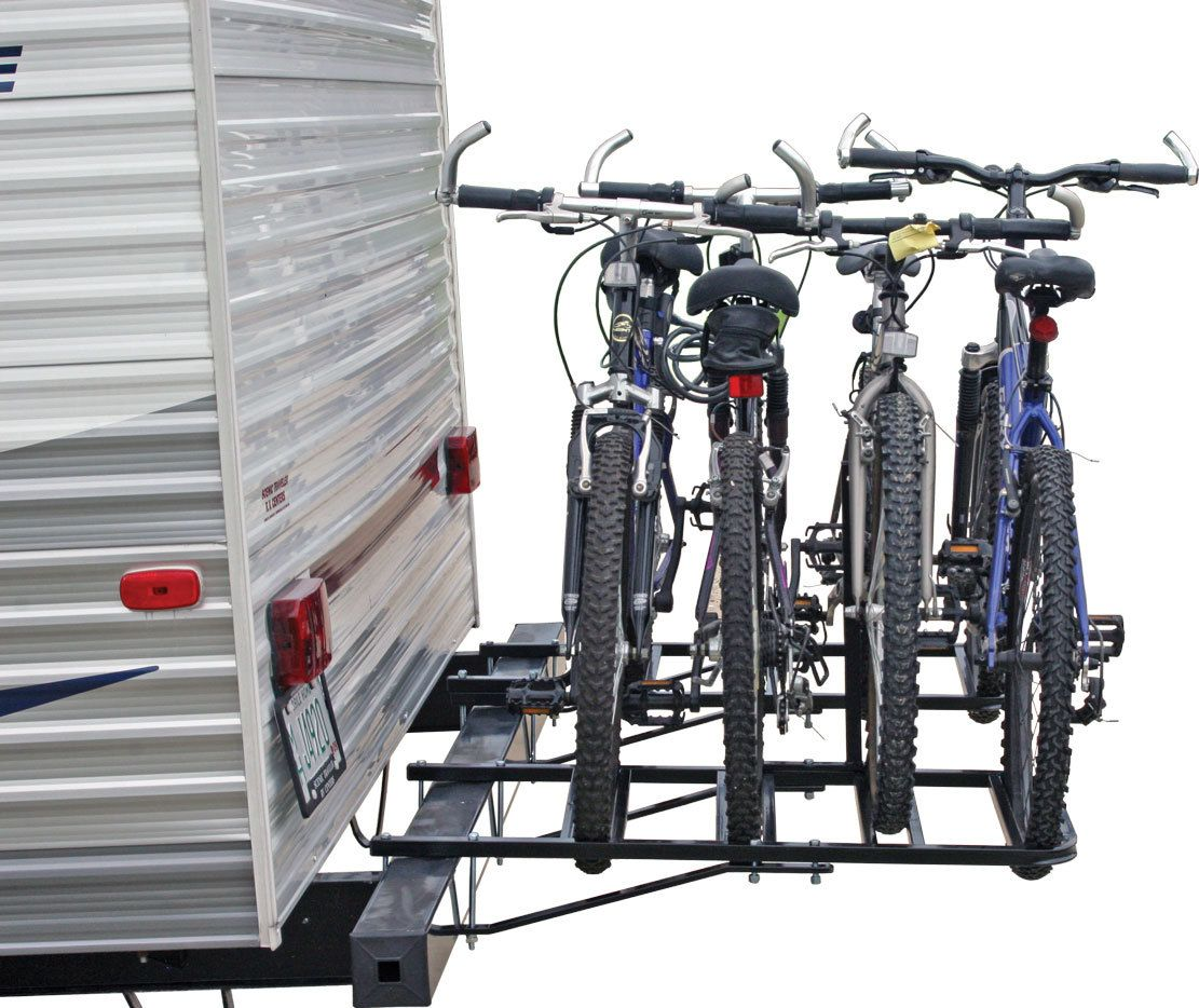 Bike Rack For The Rear Bumper Of Campers And Rvs Bikecarrack
