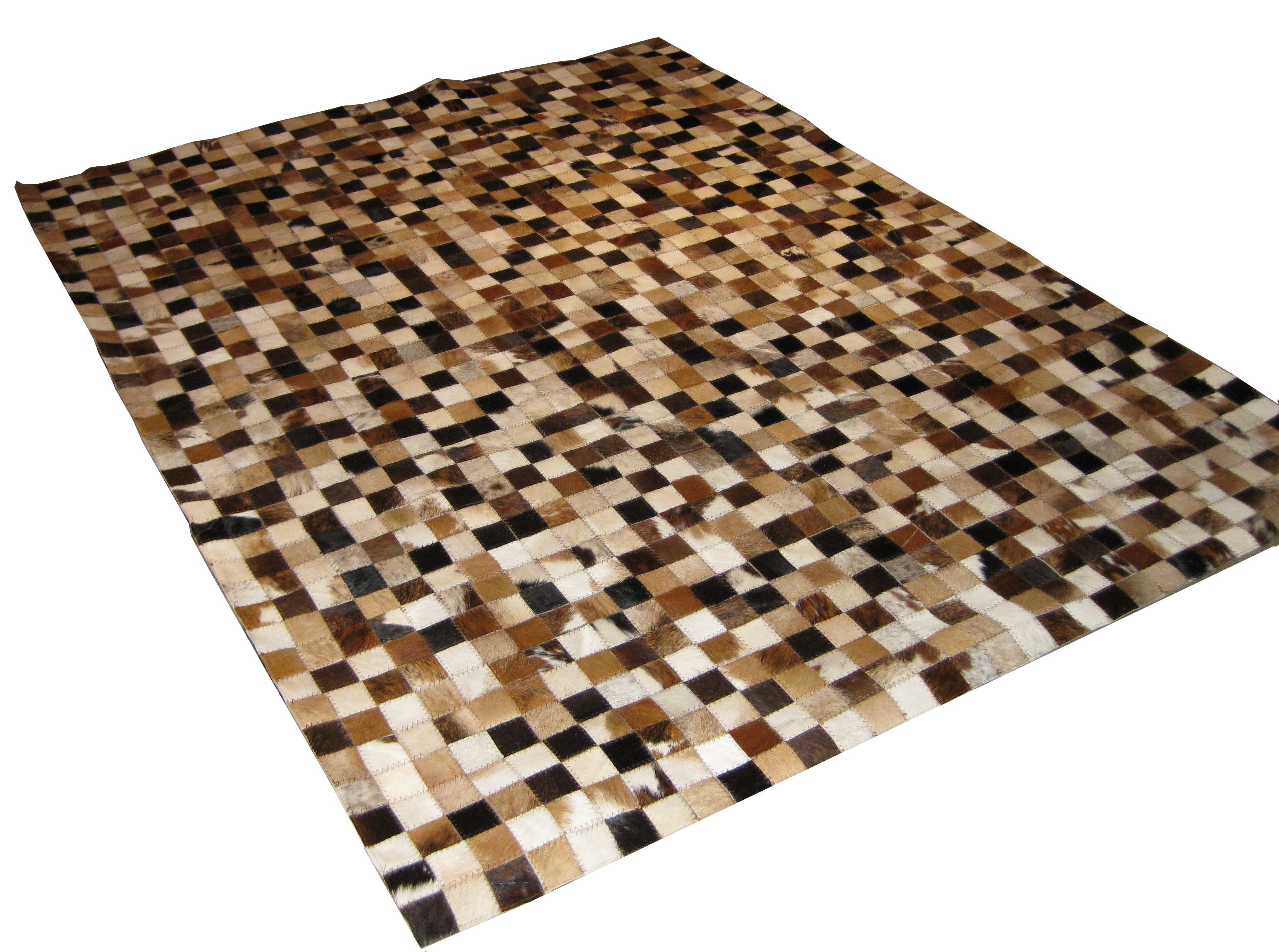 Small Patch Cowhide Carpets Colombia Cowhide Carpets Leather Rug Patchwork Cowhide Rug