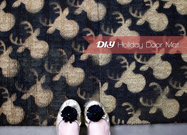 Craft · DIY Holiday Door Mat