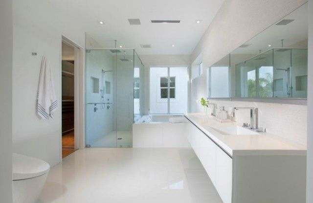 Modern Ensuite Bathroom Ideas For Large Or Small Space Tips For Designing And Decorating Mast Minimalist Home Contemporary Master Bathroom Minimalist Bathroom