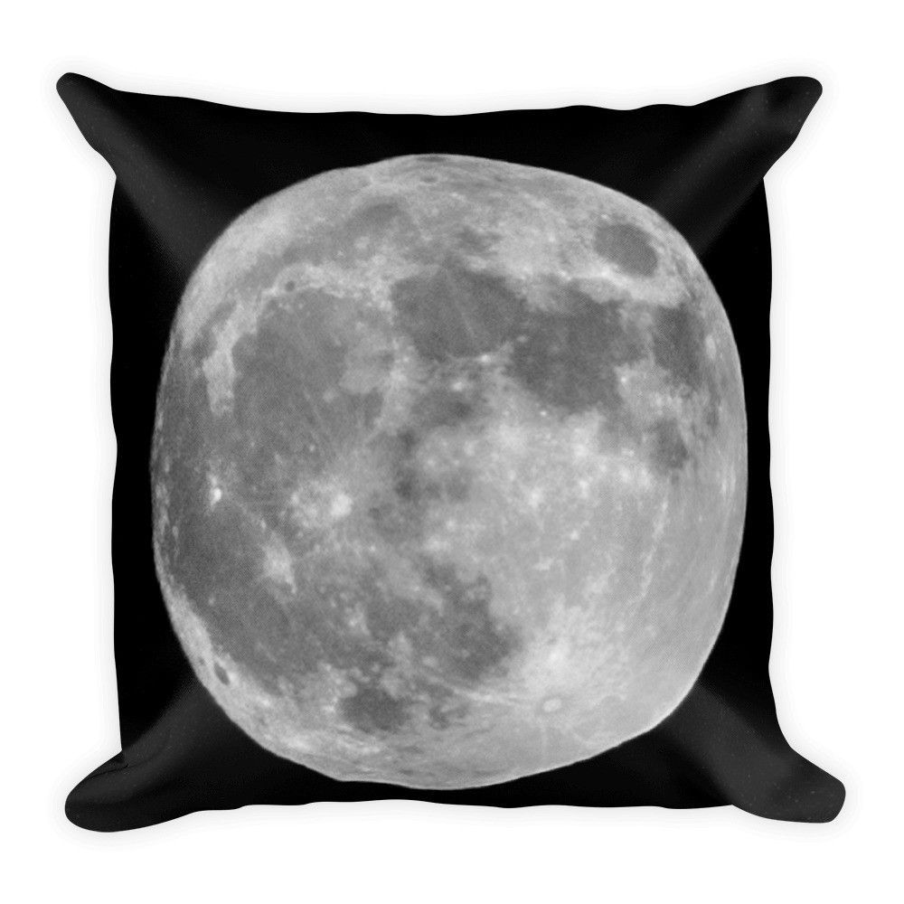"""Super Moon"" (Limited Time) Square Pillow"