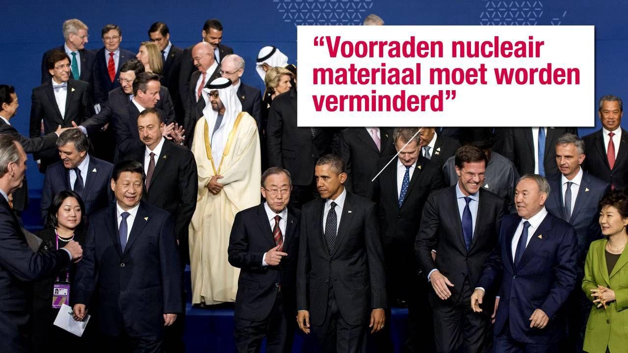 Wereldleiders komen tot een akkoord op Nucleaire top