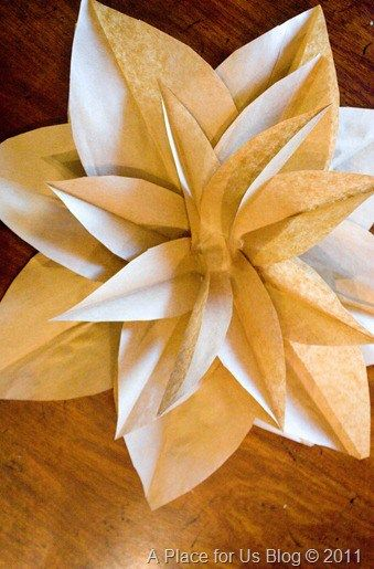 Brown Paper Flowers Tutorial Paper Bag Flowers Paper Bag Crafts