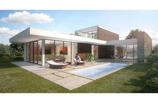 Pin de alonso chica alvarez en planos para casas for Casas minimalistas 180m2
