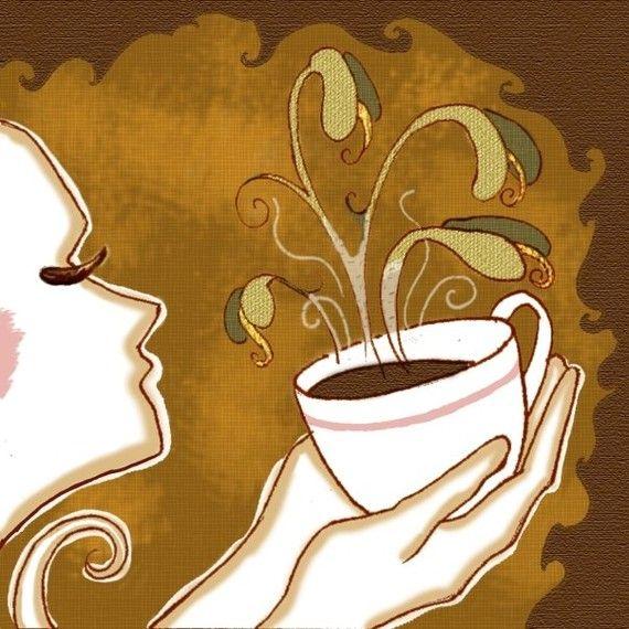 "Mmmmm"" | UtopianCoffee.com | Coffee art, Coffee love, I love coffee"