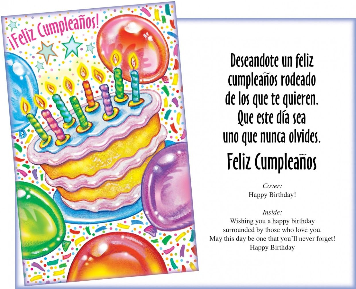 8 Top Spanish Birthday Cards In 2021 Happy Birthday In Spanish Spanish Birthday Cards Happy Birthday Quotes For Daughter