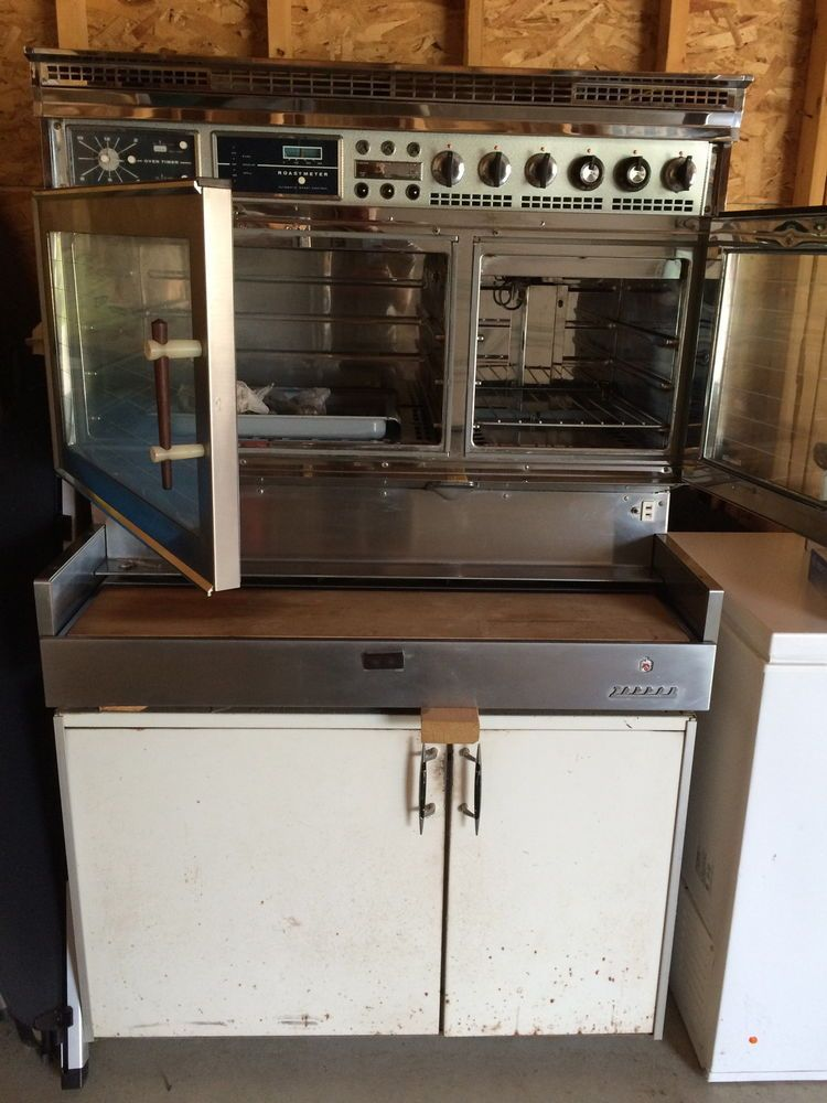 Details about VINTAGE STOVE Tappan Deluxe 1950's Doughboy