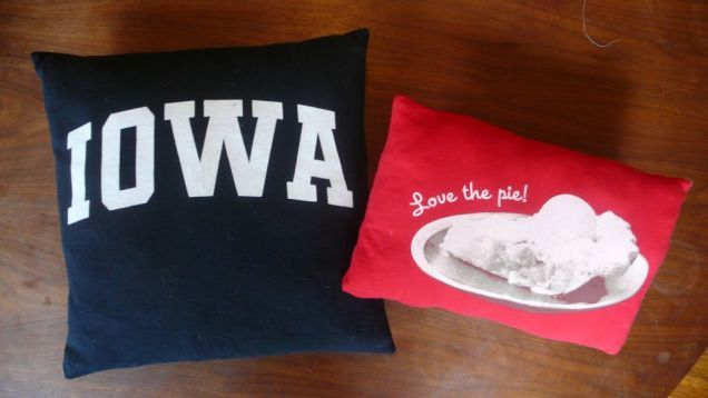 How To Turn A T-Shirt Into A Pillow Tutorial
