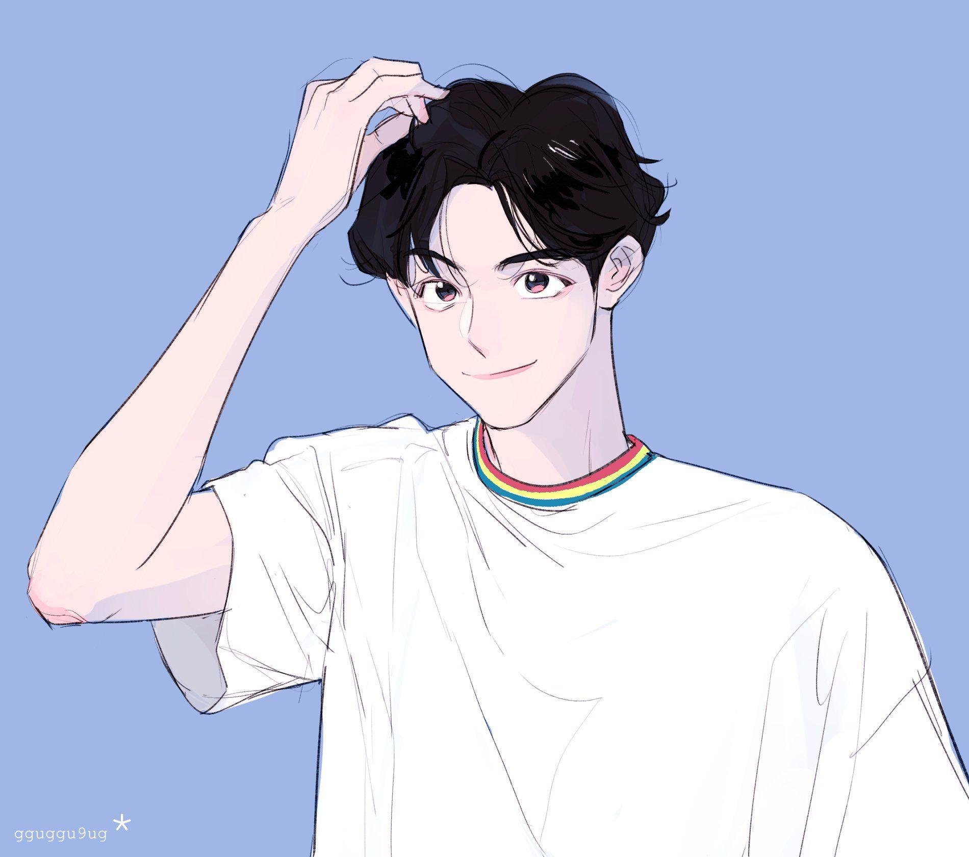rest꾸국 on in 2020 Boy art, Anime art, Character art