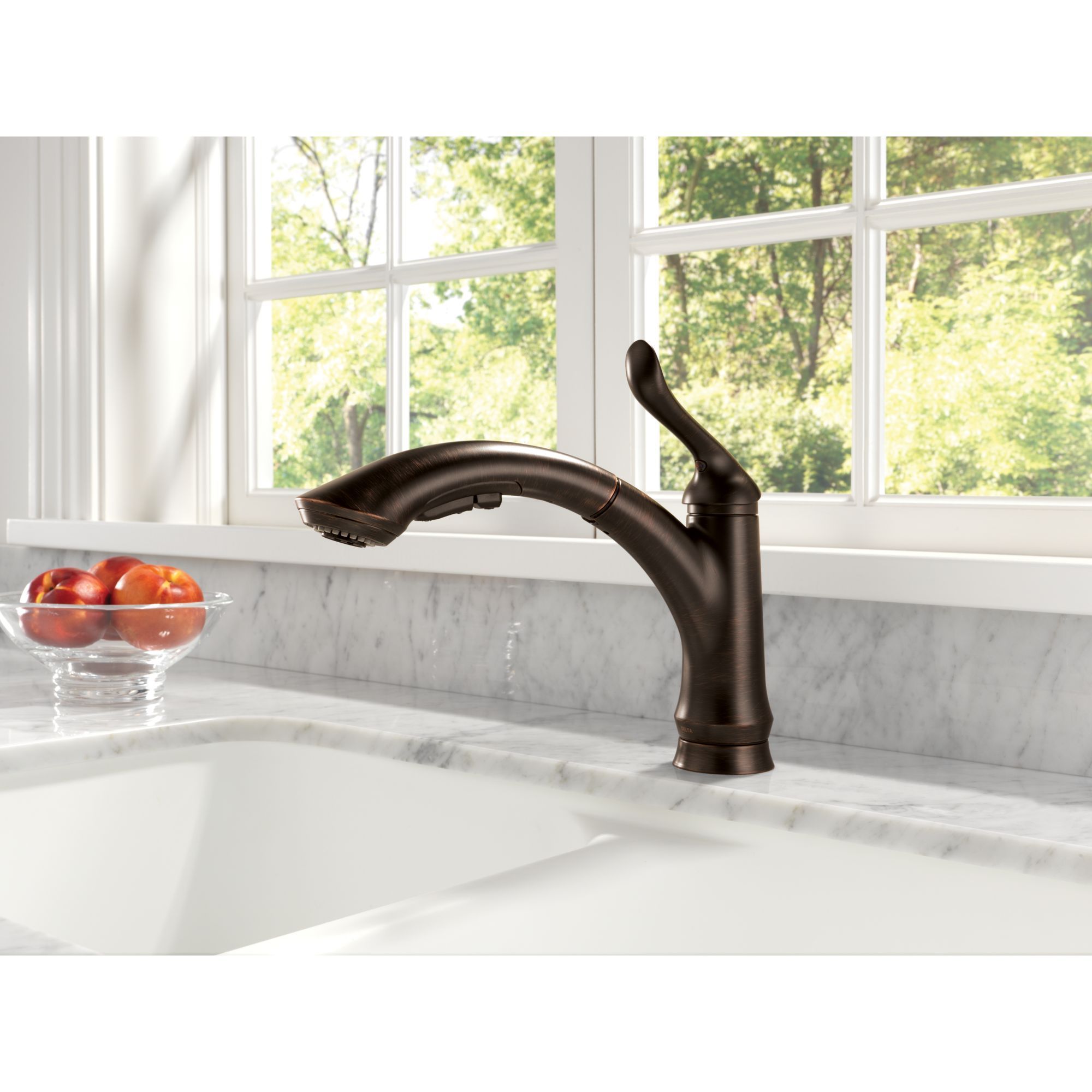kitchen diamond single linden faucet pull delta lovely with technology sprayer seal simple down define touch handle design interior chrome