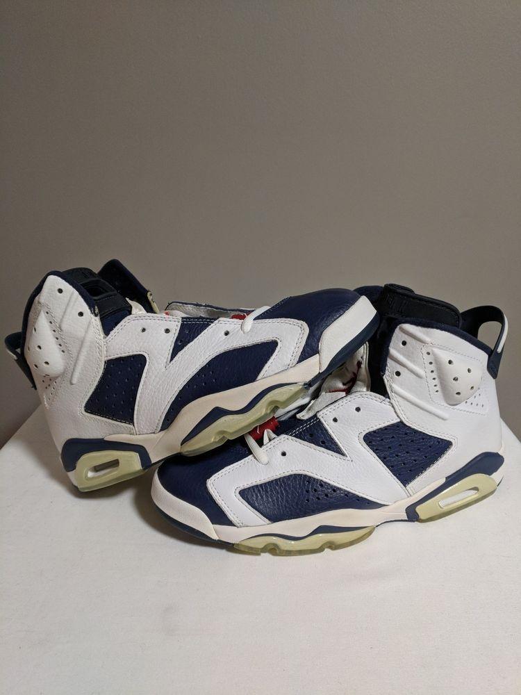 addaff30b70cad eBay  Sponsored Jordan 6 Og Olympic 2000 Sydney Red White Blue Ds Sz ...
