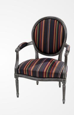 Roche Bobois   FLORIAN   Louis XVI Convertible Armchair, Design Paul Smith  #armchair #